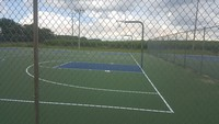 Lewis Mathews Tennis and Basketball Courts